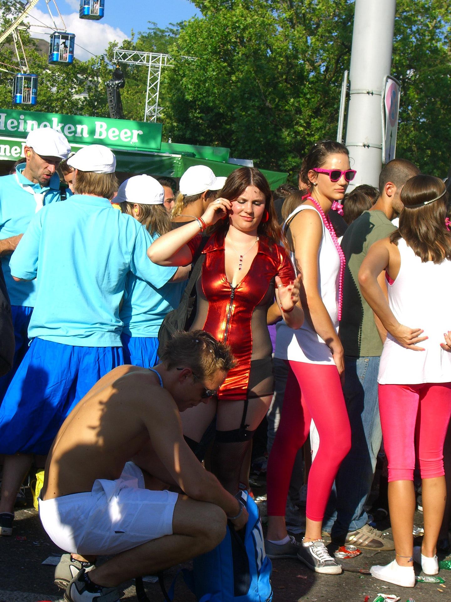 Streetparade   Mensch