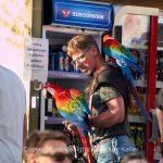Tier   Vogel   Papagei   Mensch