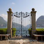 See   Luganersee   Berg   San Salvatore   Bauwerk   Tor