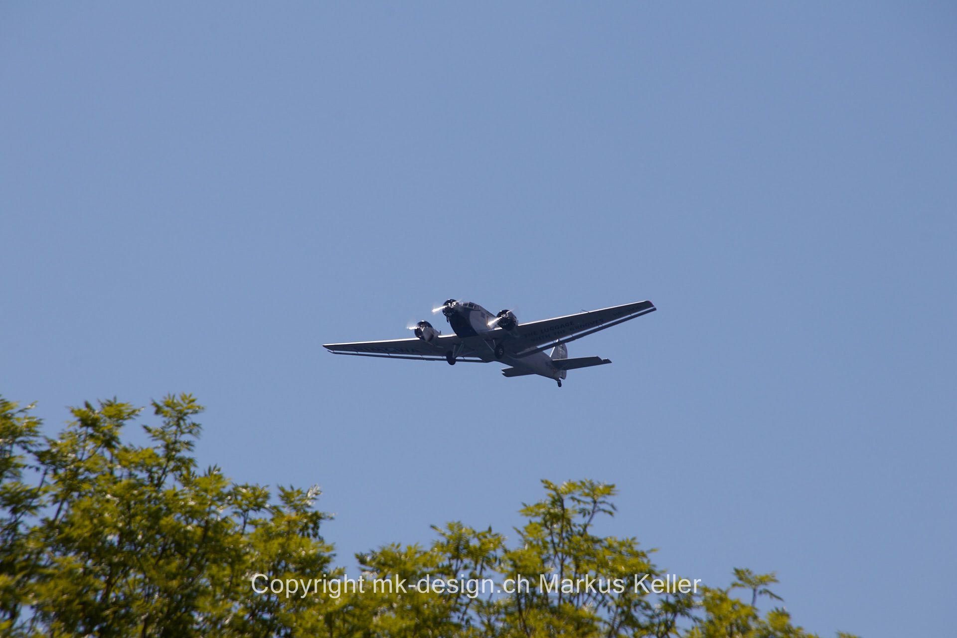 Flugzeug   Junkers Ju52