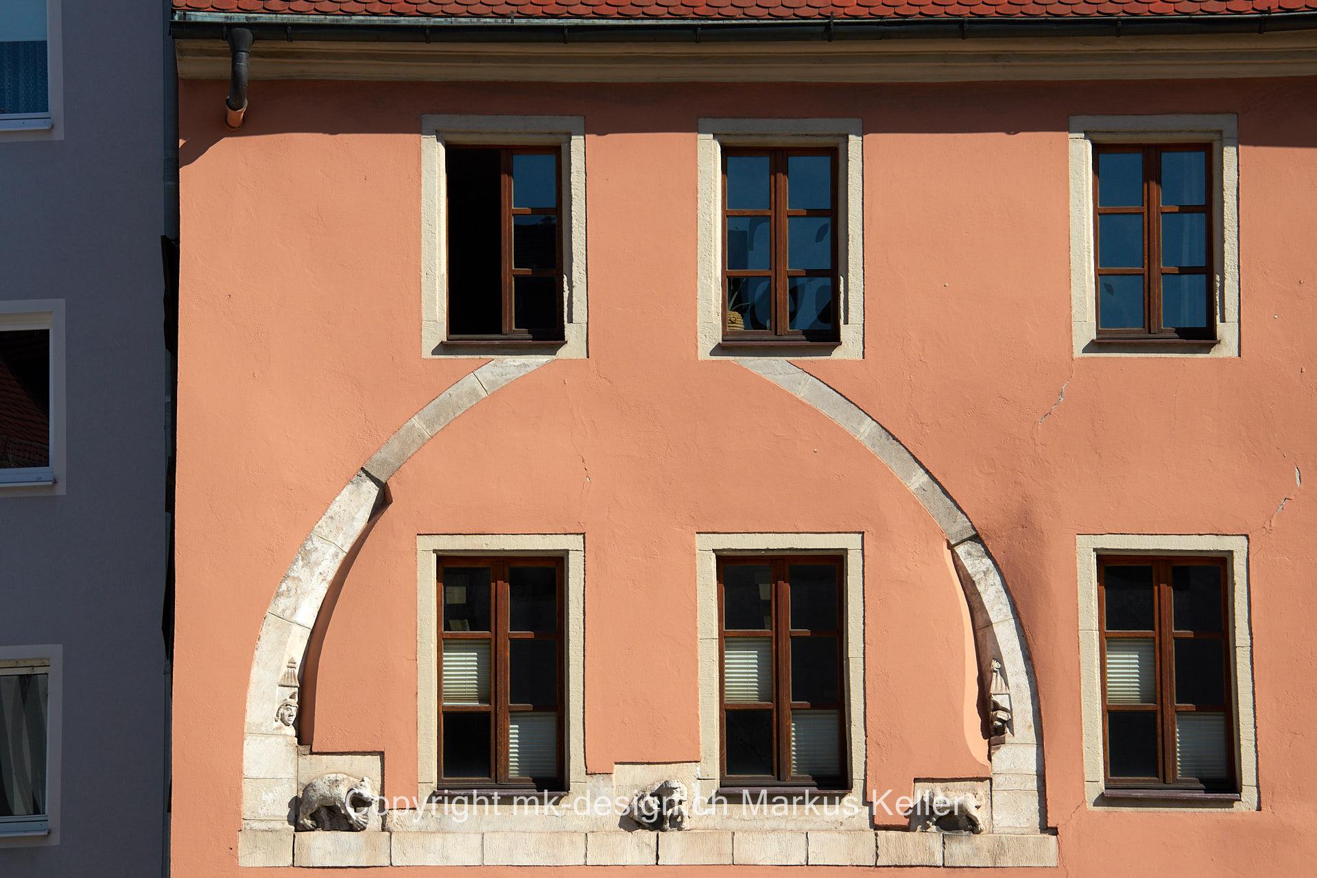 Bauwerk   Fenster   Fassade