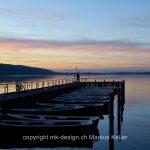 Sonne   Sonnenuntergang   See   Greifensee