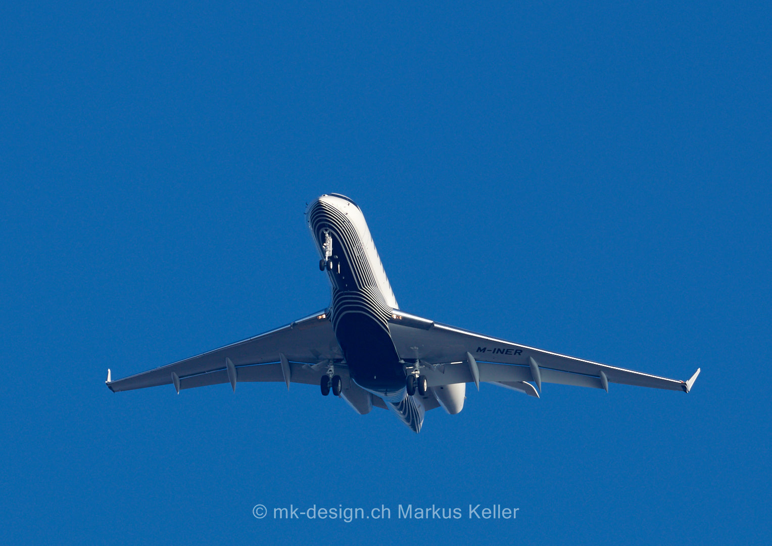 Flugzeug   Bombardier BD-700-1A10 Global 6000