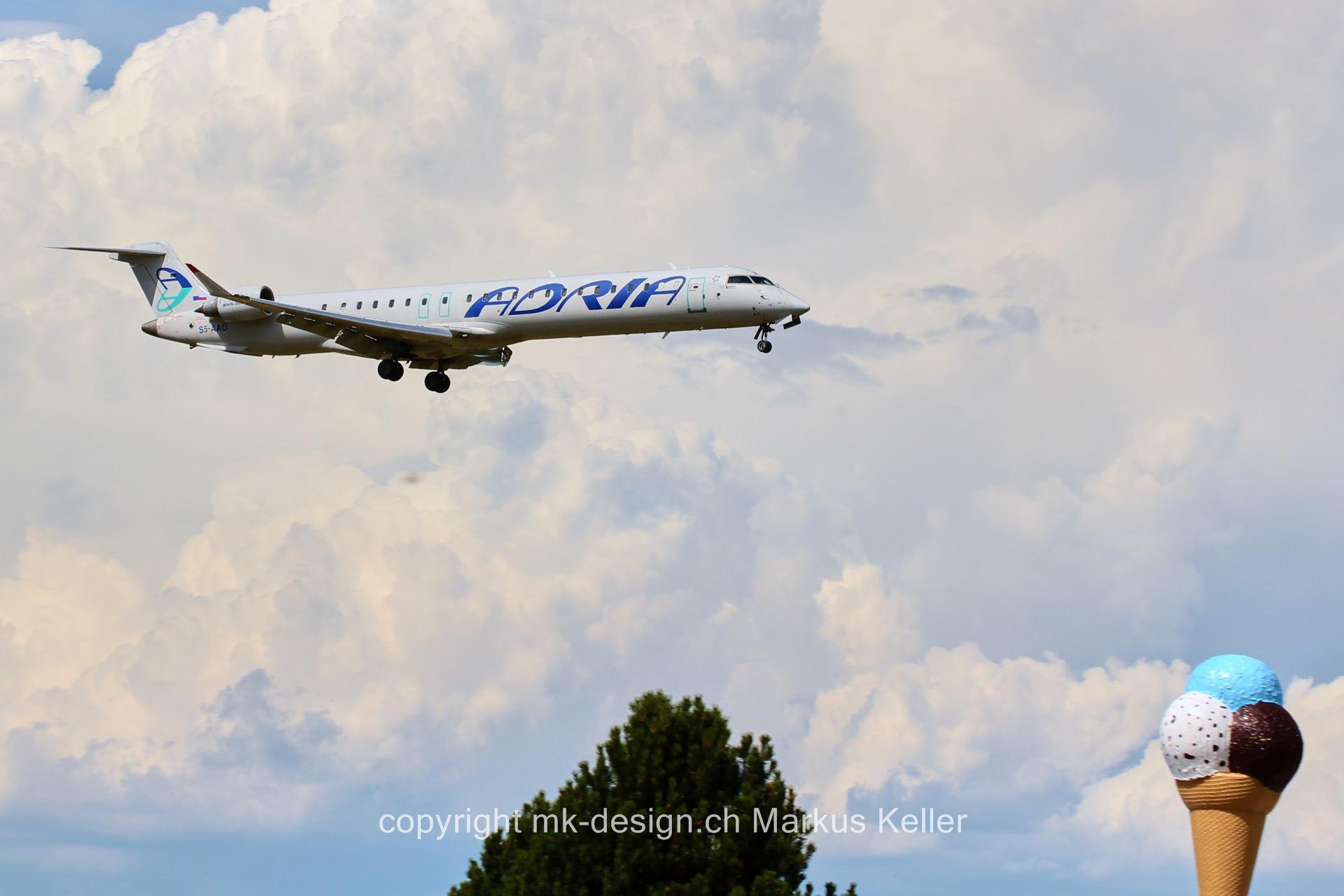 Flugzeug   Bombardier CRJ-900LR