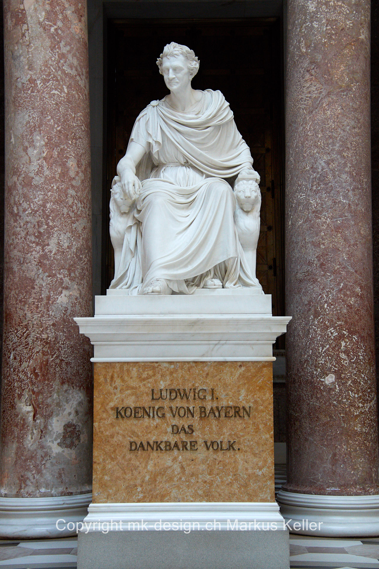 Bauwerk   Monument   Walhalla   Statue/Skulptur   Ludwig I