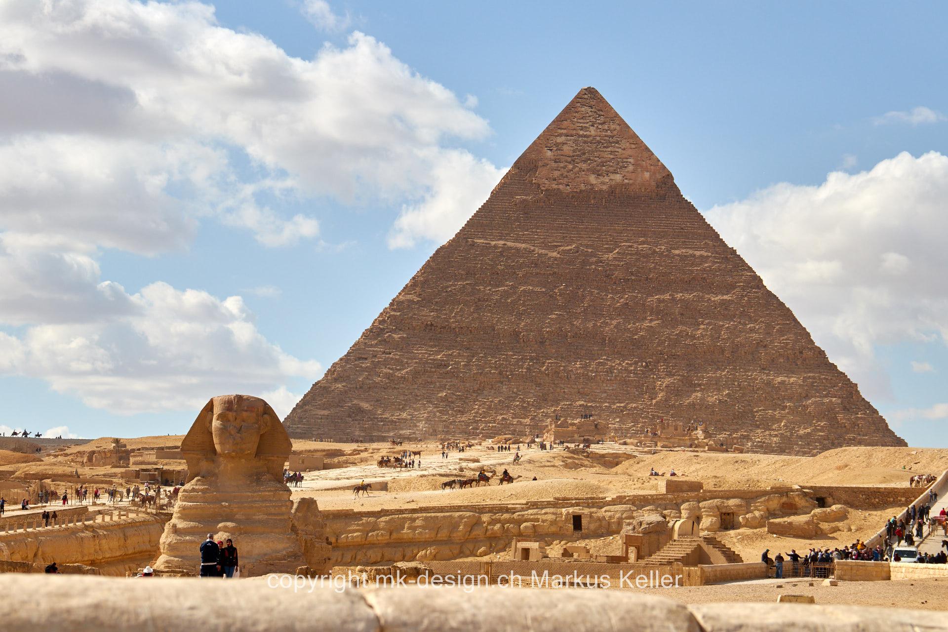 Bauwerk   Pyramide   Statue/Skulptur   Sphings   Cheops