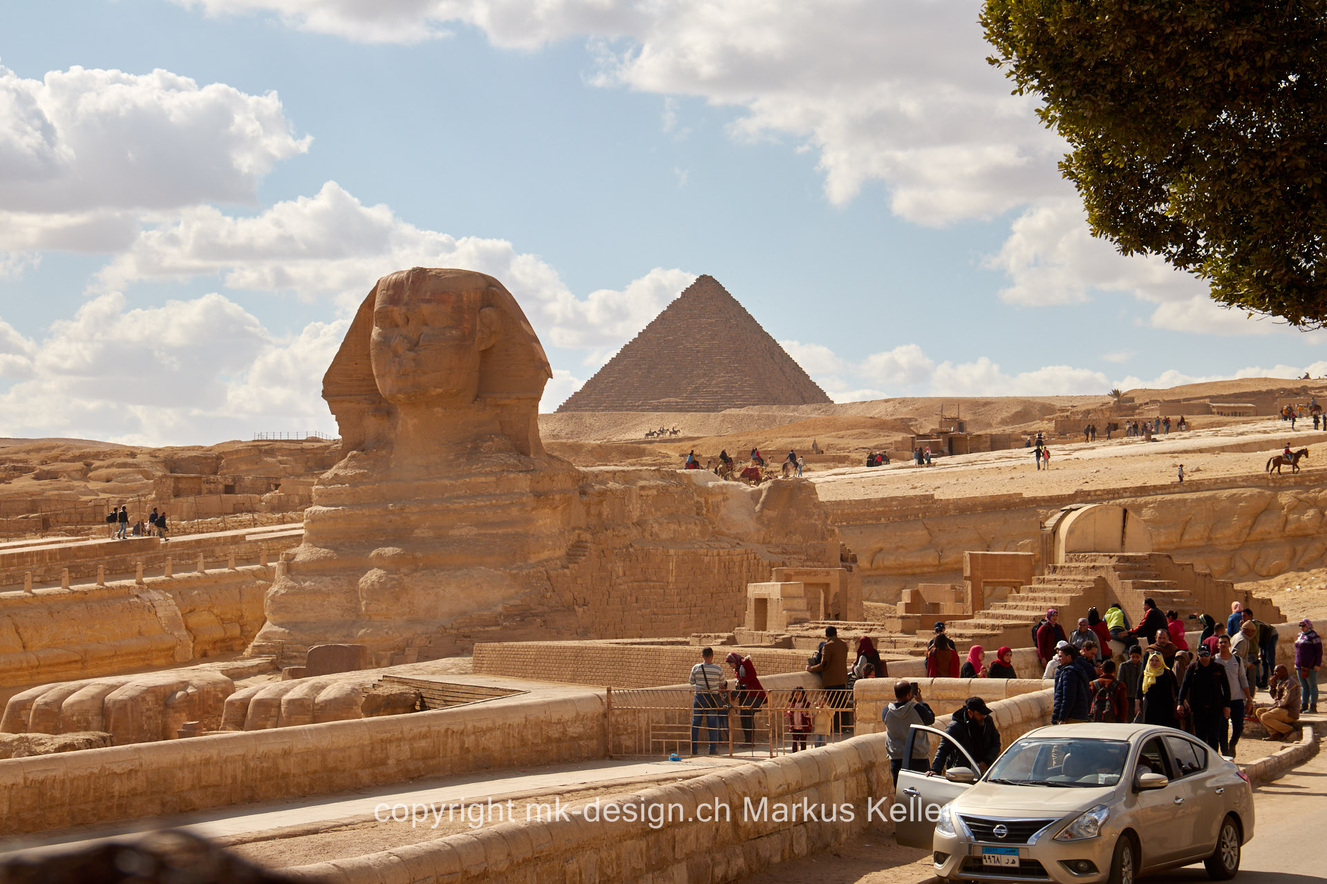 Bauwerk   Pyramide   Statue/Skulptur   Sphings   Mykerinos