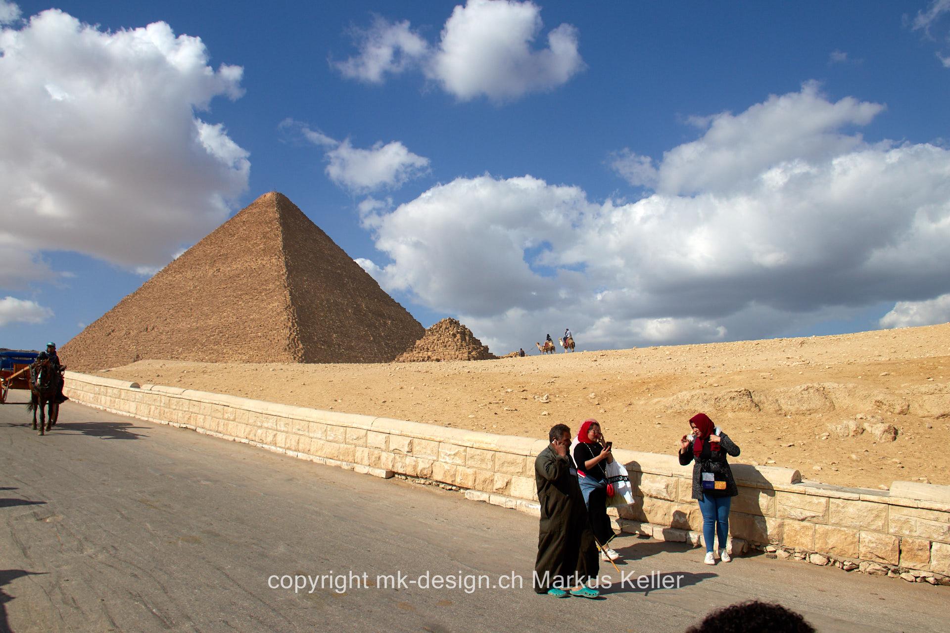 Bauwerk   Pyramide   Chephren
