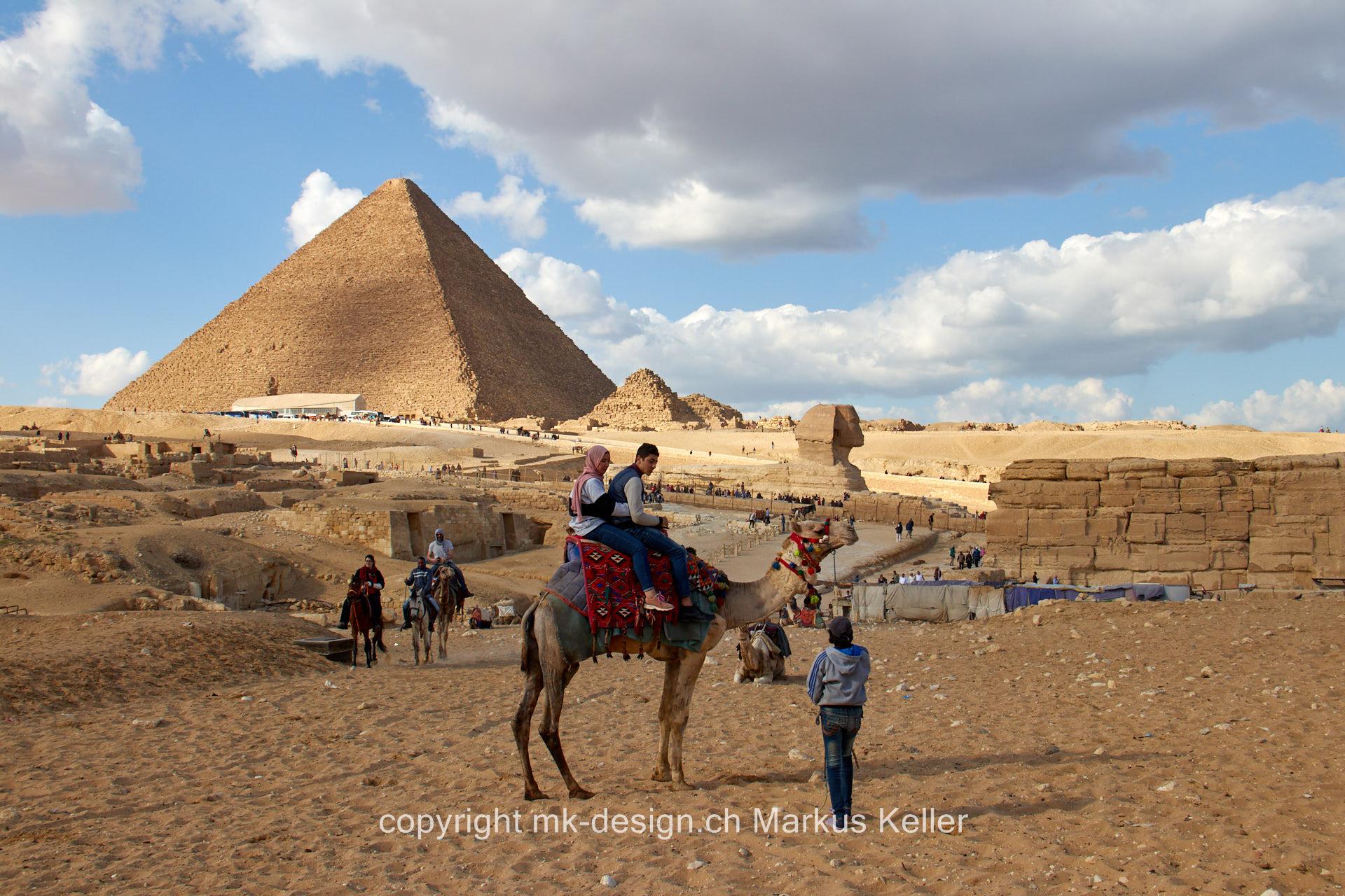 Bauwerk   Pyramide   Statue/Skulptur   Sphings   Chephren