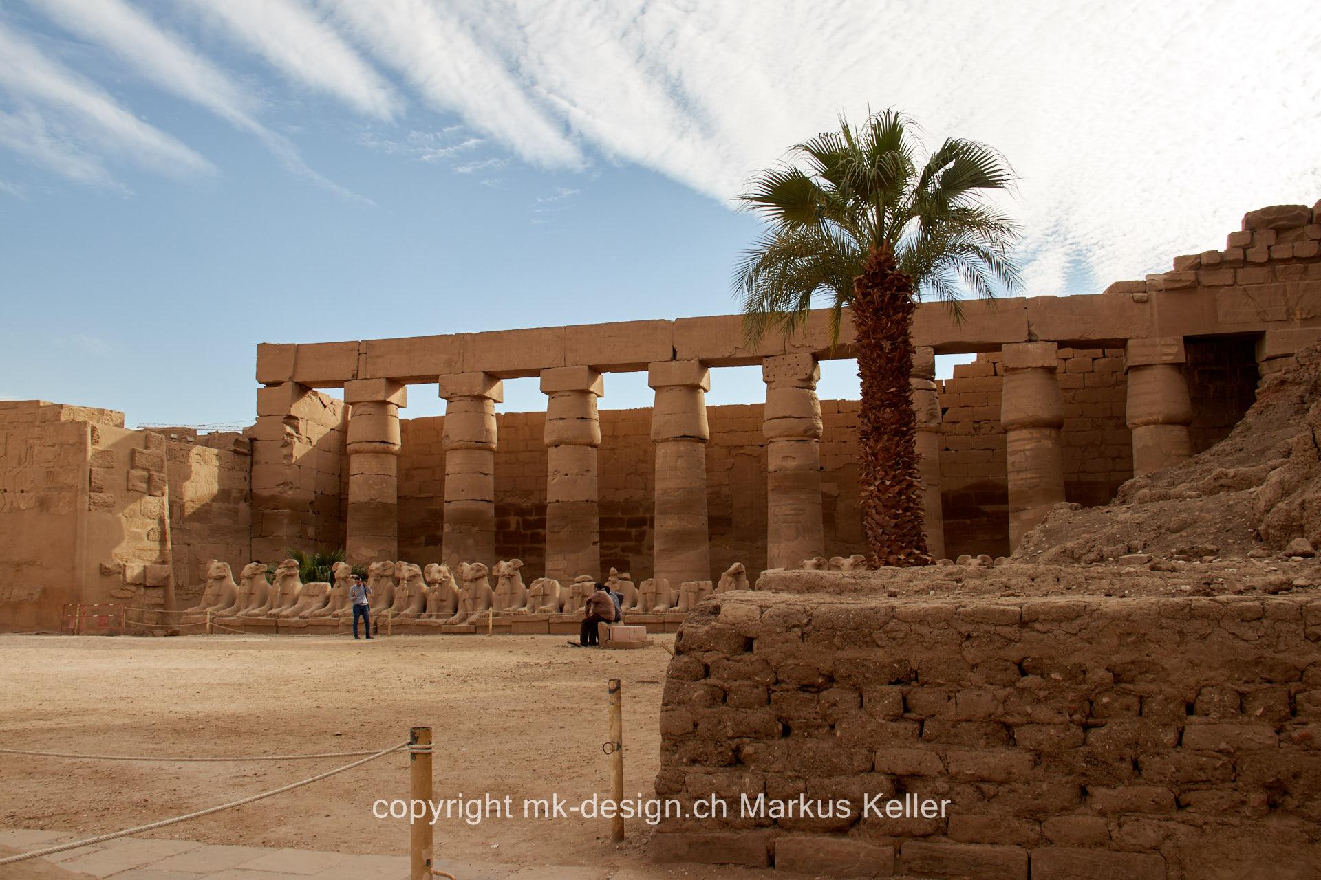Bauwerk   Tempel   Karnak