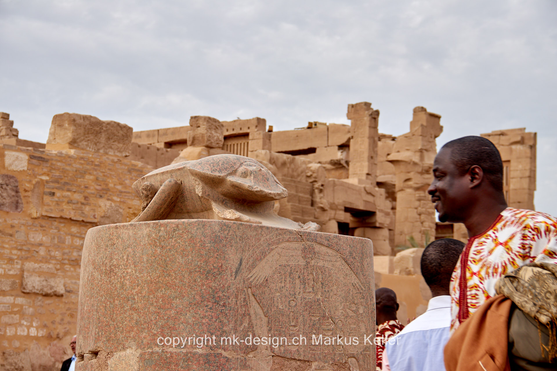 Bauwerk   Tempel   Karnak   Statue/Skulptur