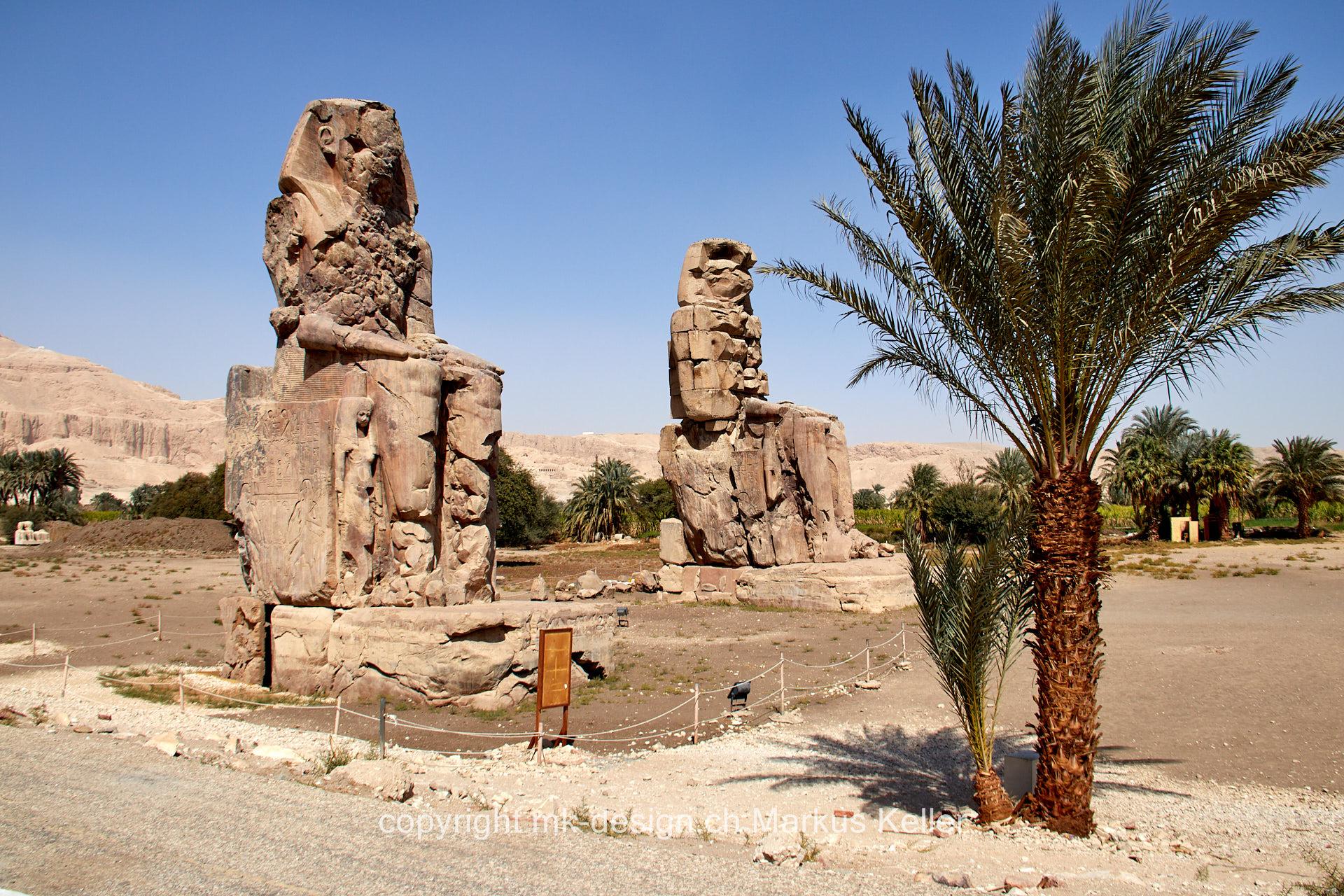 Bauwerk   Statue/Skulptur   Memnonkoloss