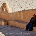 Bauwerk   Tempel   Hatschipsut   Mensch