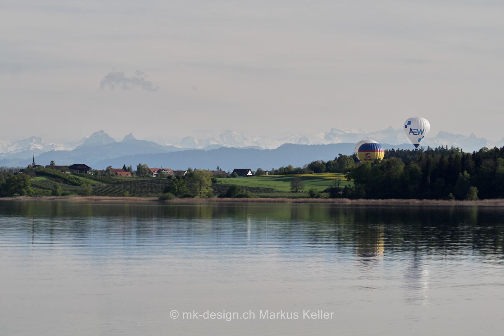 See   Pfäffikersee   Ballon   Panorama